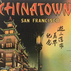 Vintage Wall Art - Vintage San Francisco CA Souvenir Postcard Book